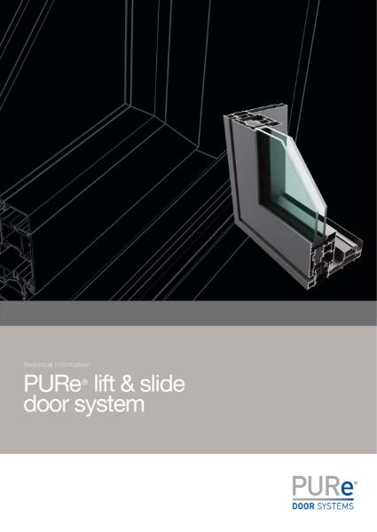 PURe Lift & Slide Door Datasheet