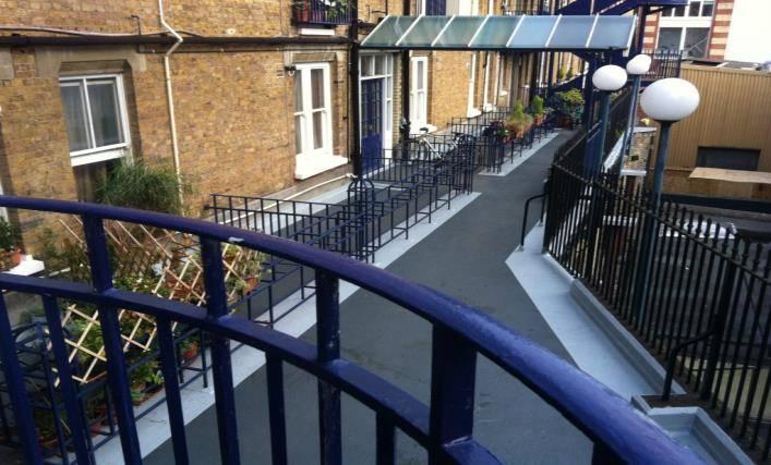A New Slip-Resistant Walkway Waterproofing System