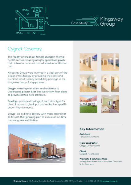 Kingsway Group Case Study 2
