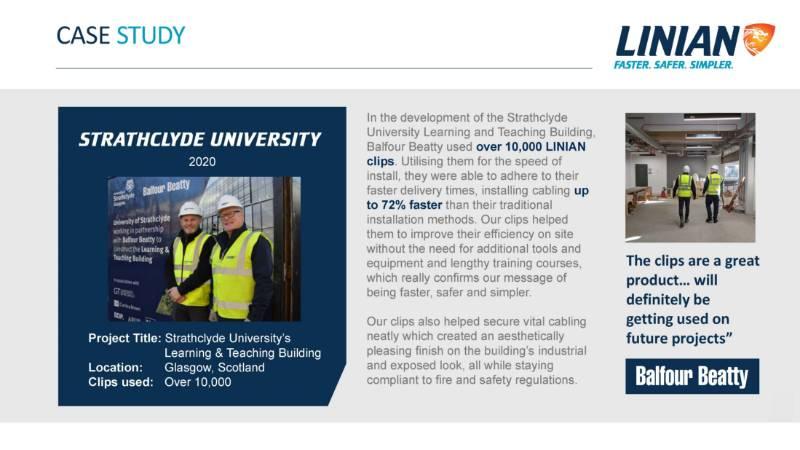LINIAN Case Study - Strathclyde Uni, Balfour Beatty