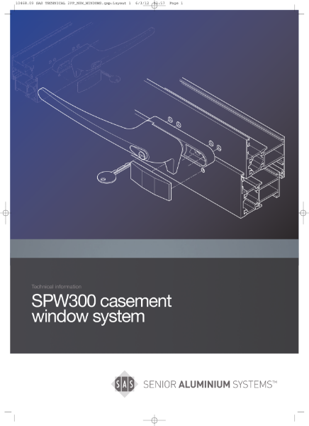 SPW300 Range of Windows & Doors