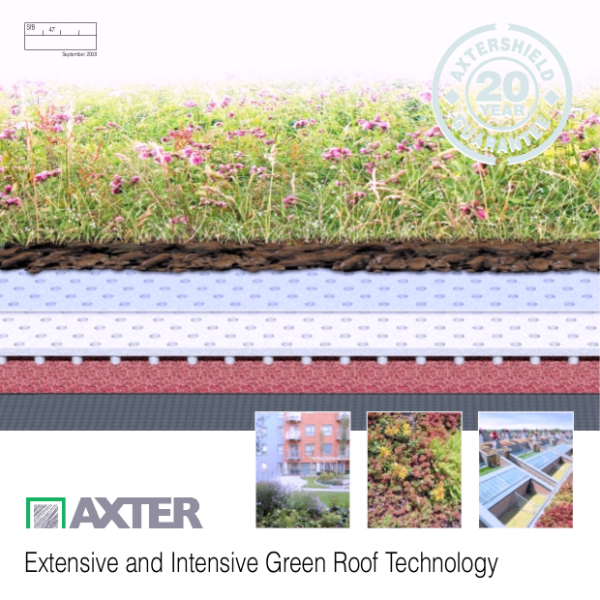 Extensive and Intensive Green Roof Technology