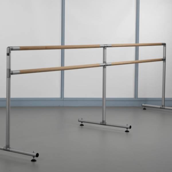 Wall-mounted Double Ballet Barre Bracket