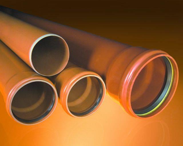 Underground drainage pipelines
