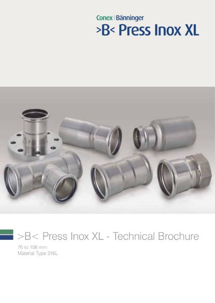 >B< Press Inox XL Technical Brochure