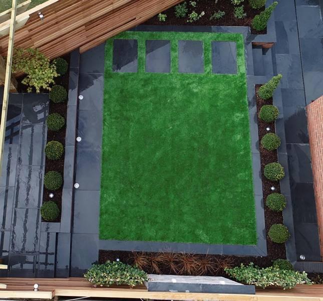 Three tiers for award-winning garden