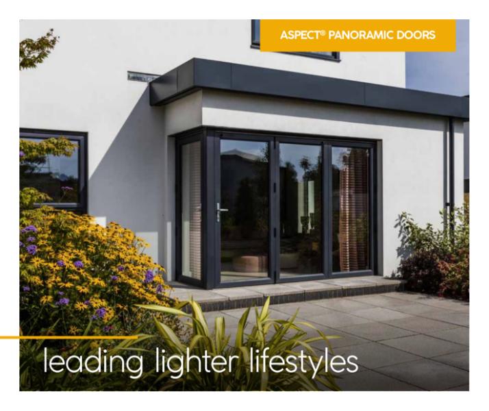 Aspect PVC-U Bi-Folding Doors Consumer Brochure