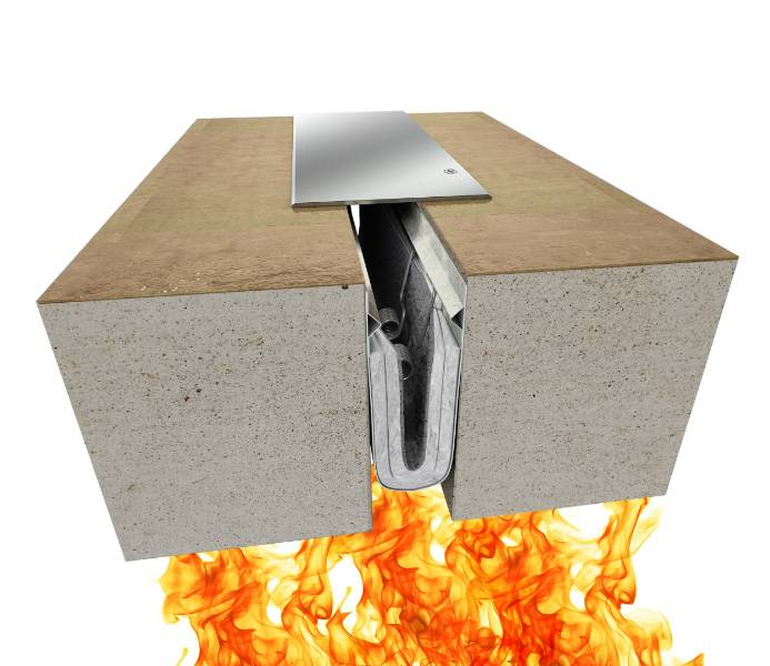 Fireline™ 140 Fire Barrier Expansion Joint System