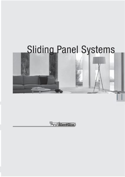 Sliding Panel Systems by Silent Gliss