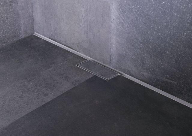 Waterstop Wall - Shower drain
