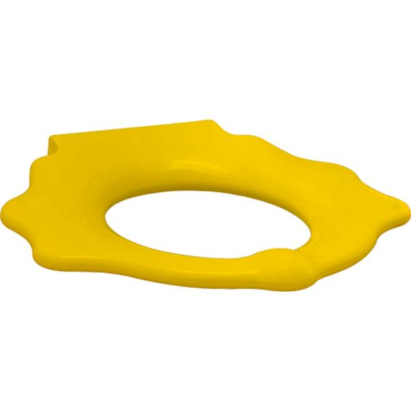 Bambini WC seat ring for children, with grips, turtle design