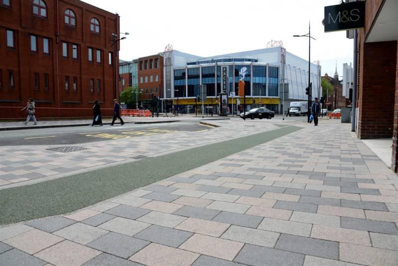 Wolverhampton Public Realm Contemporary city transformation