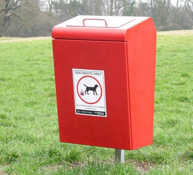 Lucky Dog Waste Bin