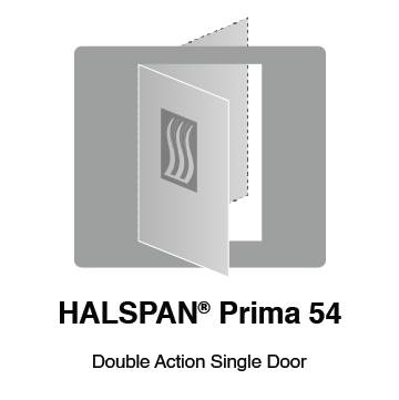 HALSPAN® Prima 54 mm Internal Fire Rated Door Blank - Double Acting Single Doors
