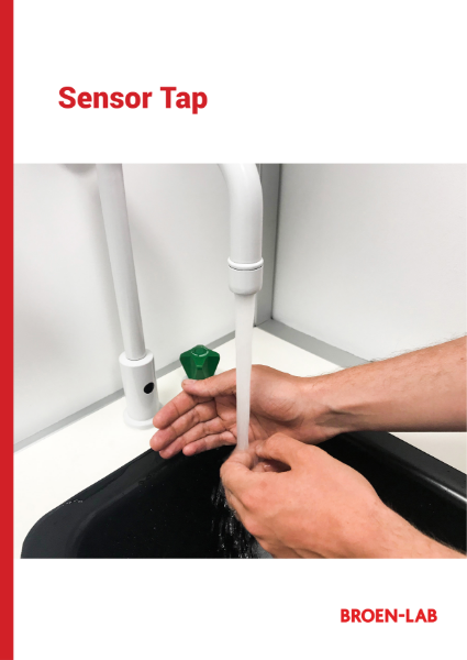Sensor Tap for cold, hot or tepid water