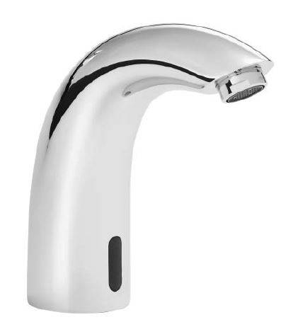 IRBS1-CP Infrared Automatic Swan Basin Spout