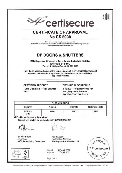 certisecure Certificate