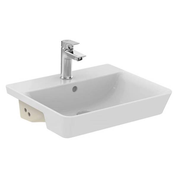 Concept Air Cube 50cm Semi-Countertop Washbasin