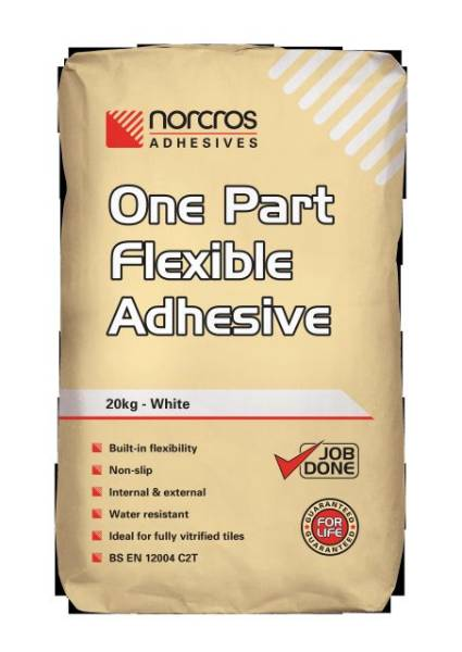 One Part Flexible White Adhesive