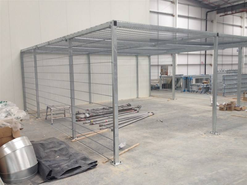 New: Bespoke 358 mesh security cages for a super luxury car manufacturer