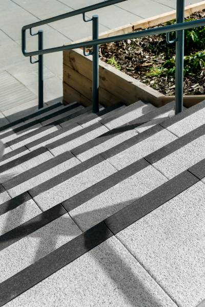 Mayfair Step Flags with Contrasting Nosing