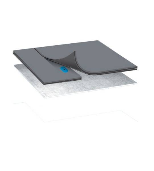 Bauder Single Ply Thermofol Cold Roof Membrane System Mechanically Fixed