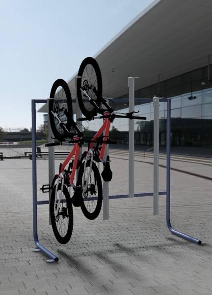 Vertical Cycle Rack