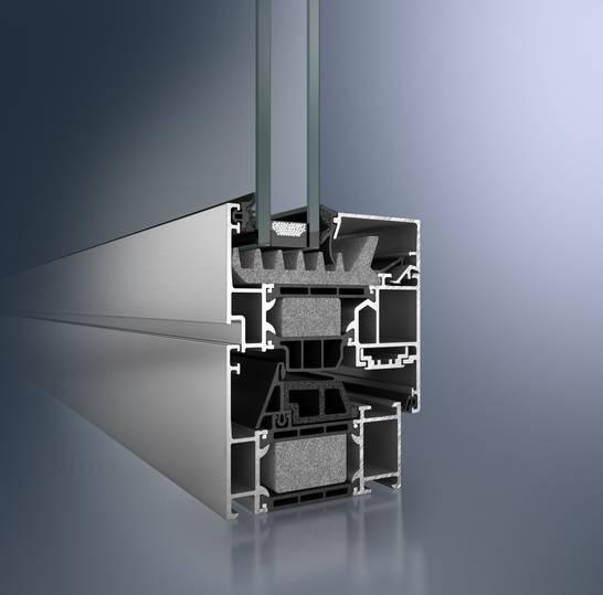Super insulated aluminium window system - AWS75.SI
