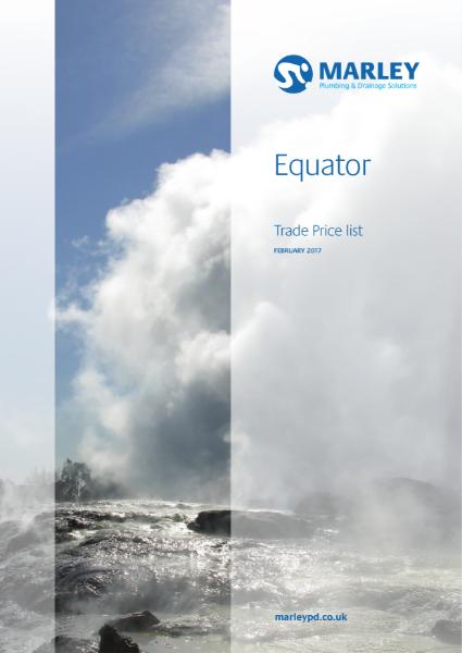 Equator Price List February 2017