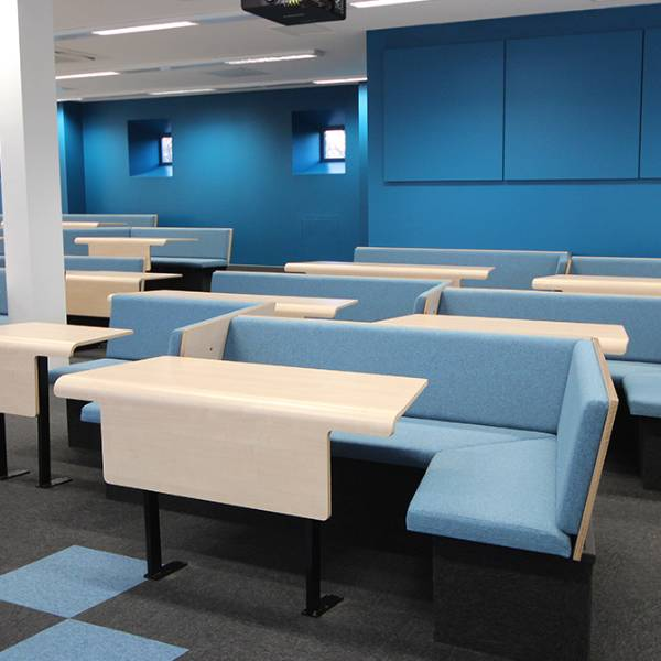 Loughborough University Collaborative Bench Seating