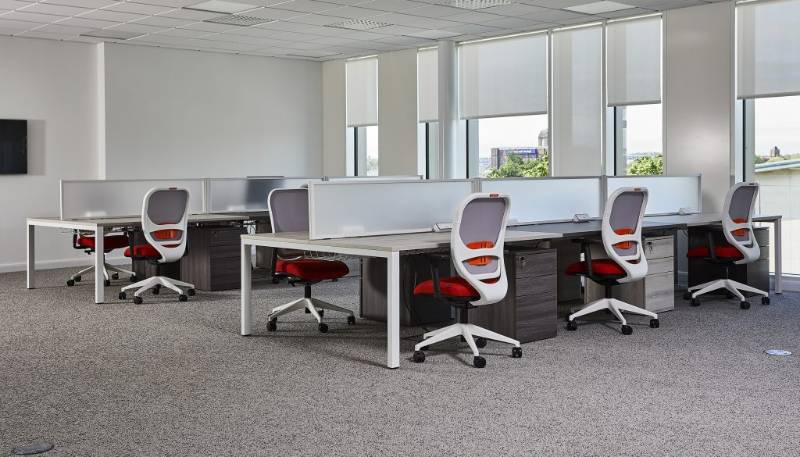 Mesa Double Sided Rectangular Desking