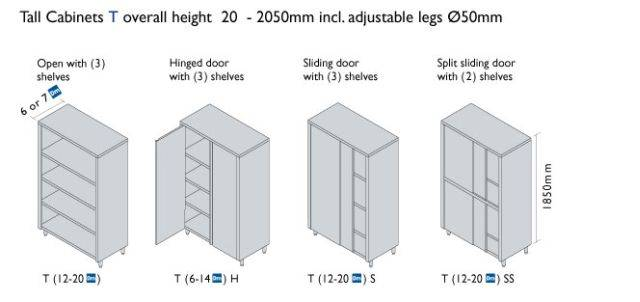 Decimetric® Tall Cabinets