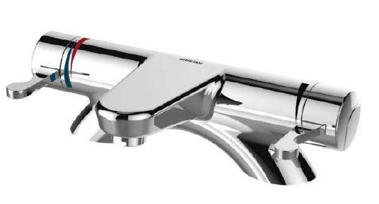 OP THBF DML C Opac Deck Mount Bath Filler with Chrome Levers