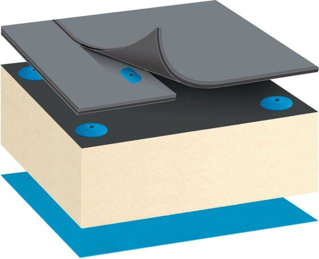 Bauder Thermofol PVC Warm Roof System - Mechanically Fixed