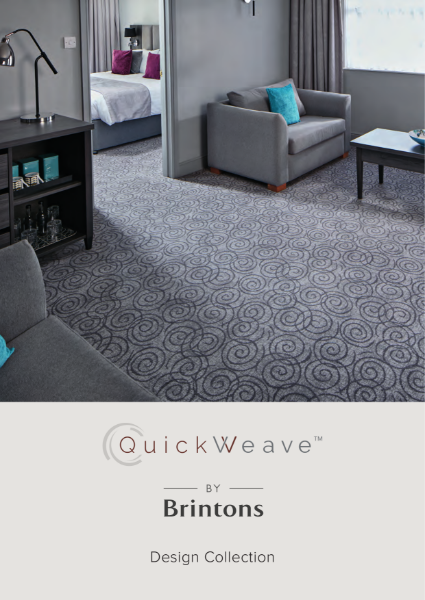 Brintons Quickweave - Axminster carpets custom made in up to 6 weeks