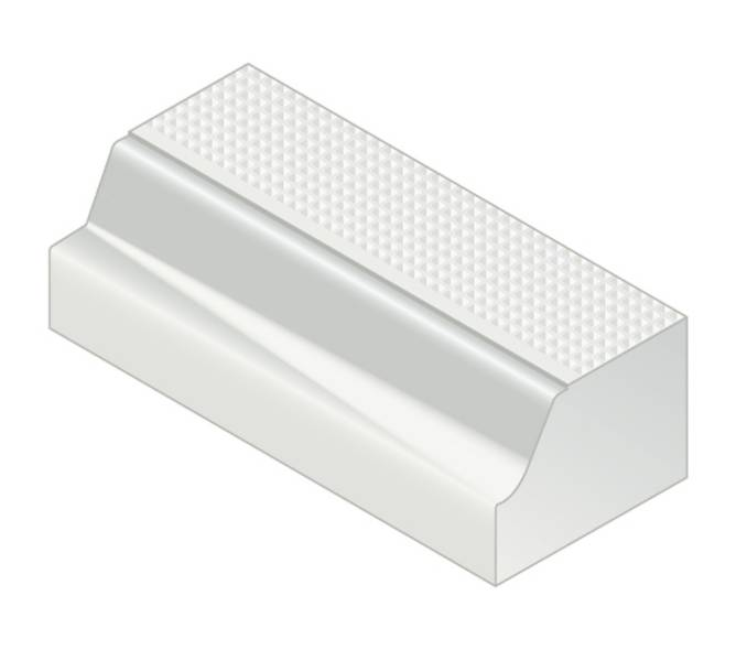 Kassel® Transition Kerb - 160 mm right hand