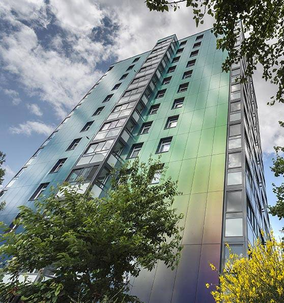 ROCKPANEL façade cladding contributes to revamping Manchester skyline