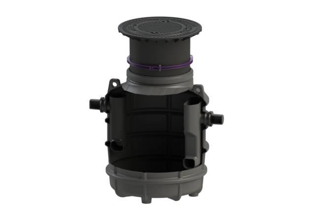 KESSEL Grease Separator EasyClean Ground NS1 - NS4 Standard (frost free depth 800mm)
