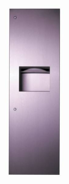 Paper Towel Dispenser and Waste Bin B-39003