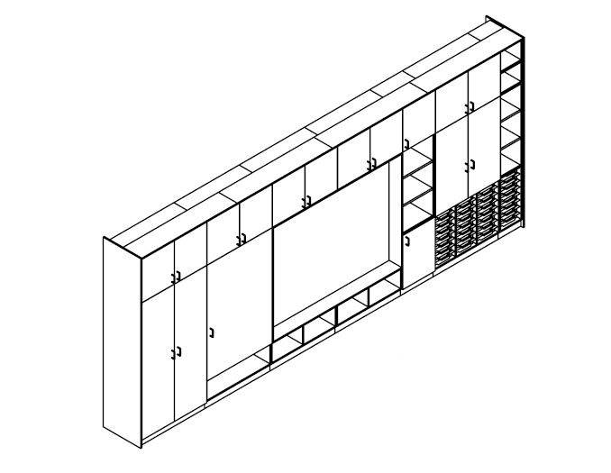Teaching Wall Configuration TW/8