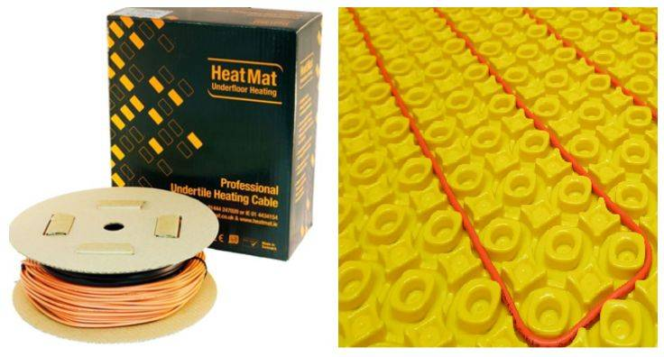 Underfloor Heating Cable Systems