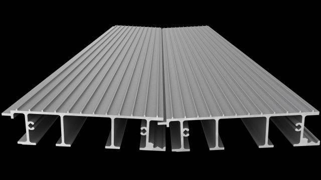 Standard Aluminium Decking