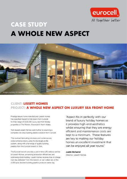 Lissett Homes Aspect Case Study