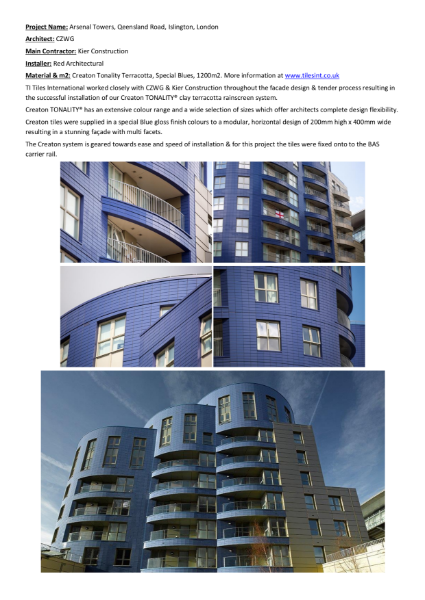 Terracotta Cladding - Case Studies - Creaton Tonality Terracotta Rainscreen Cladding