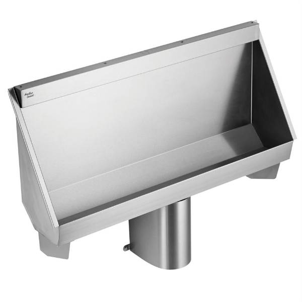 Kinloch 120, 180 and 240 cm Trough Urinal Central Outlet