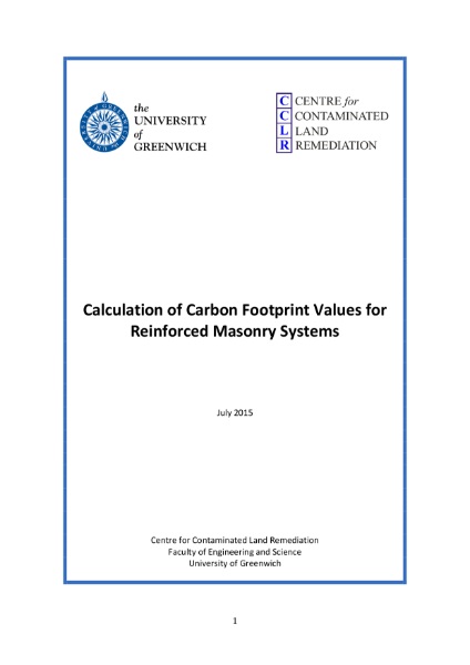 Embedded Carbon report for the Wi System
