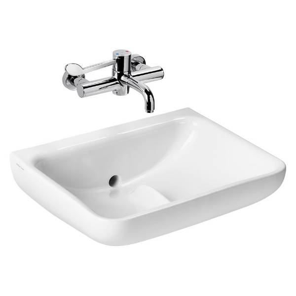 Contour 21+ 60cm Back Outlet Washbasin