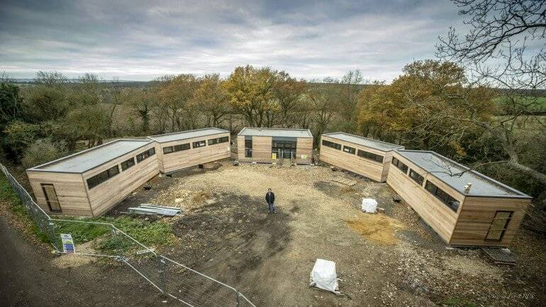 ECO-LODGES : ECOSCREED Thermal M13 TF