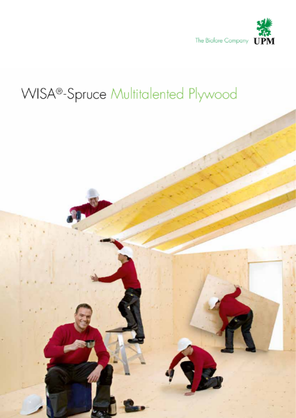 WISA-Spruce Multitalented Plywood