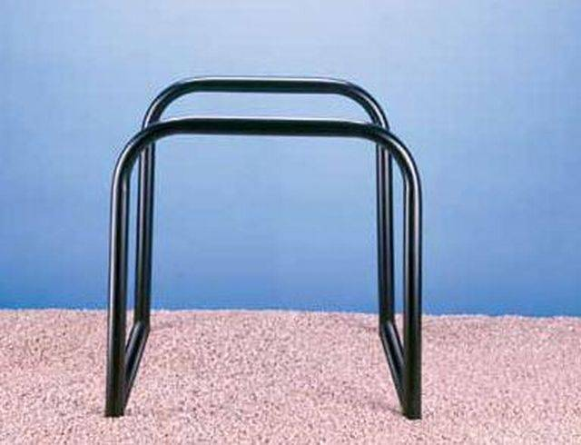 Ollerton Sheffield Double Cycle Stand - Galvanized Steel